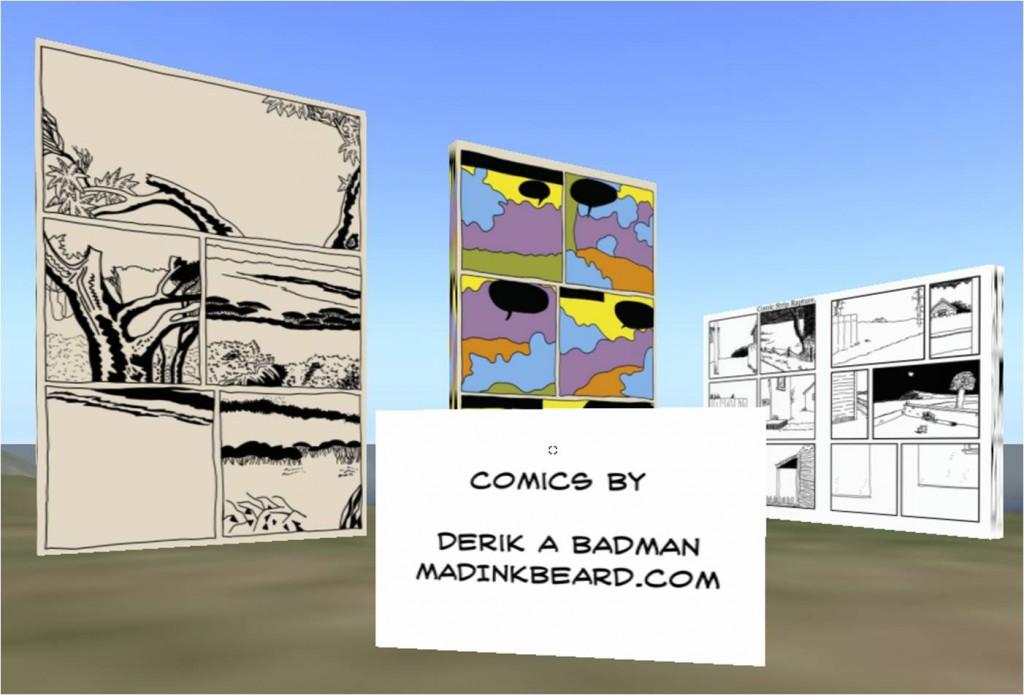 Derik A. Badman Monumental Comics